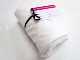 Great value 1m Precut Shiny Lycra Mini Roll- White available to order online Australia