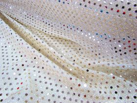 Great value 3mm American Sequins- Light Gold available to order online Australia