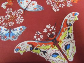 Great value Amy Butler- Queen Ann's Butterflies- Ruby available to order online Australia
