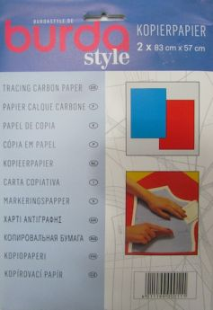 Great value Burda Style Carbon Tracing Paper- Red/Blue available to order online Australia