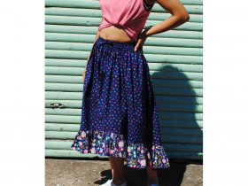 Great value Boho Skirt Downloadable Pattern- Sizes 6-20 available to order online Australia