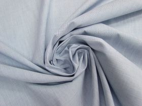 Great value Crosshatch Cotton Blend Shirting- Blue #4677 available to order online Australia