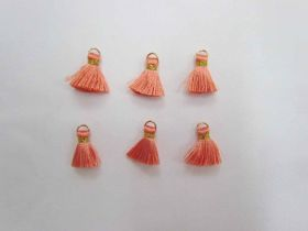 Great value Mini Viscose Tassels- Apricot- 6 for $3 available to order online Australia
