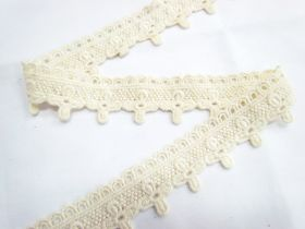 Great value Soft Vintage Flower Cross Lace- Natural available to order online Australia