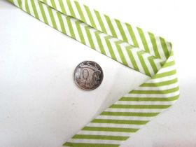 Great value A Day In The Country Bias- Medium Stripe- Lime available to order online Australia