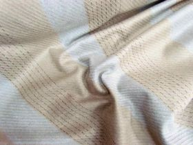 Great value Bobbi Stripe Wool Flannel- Acorn available to order online Australia