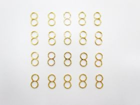 Great value 5mm Gold Strap Adjusters RW280- 20 for $3 available to order online Australia