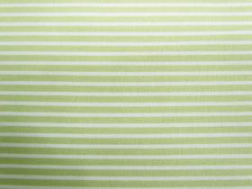 Great value Fresh Stripes Cotton- Pale Lime #PW1143 available to order online Australia