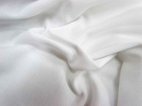Great value Australian Made Combed Cotton Pique- White #844 available to order online Australia