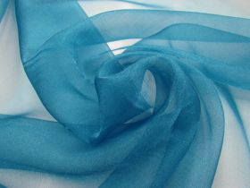 Great value Crystal Organza- Peacock Blue available to order online Australia