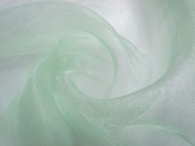 Great value Crystal Organza- Cool Mint available to order online Australia