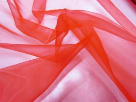 Great value Matte Organza- Red available to order online Australia