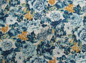 Great value Liberty Cotton- Wild Bloom- 5901B- The Emporium Collection available to order online Australia