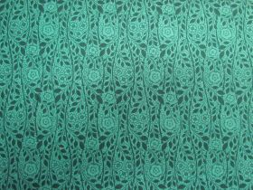 Great value Liberty Cotton- Merton Rose- 5902F- The Emporium Collection- Teal available to order online Australia