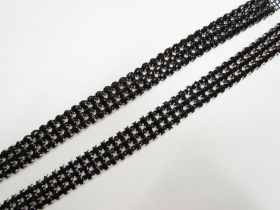 Great value Black Diamante Rhinestone Trim Pieces- 2 for $5 available to order online Australia