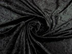 Great value Panne Velvet- Mysterious Black #4785 available to order online Australia