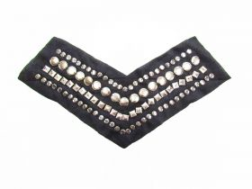 Great value Silver Studded Neckline Detail available to order online Australia