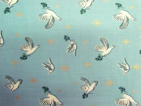 Great value Ruby Star Society Cotton- Candlelight- Doves- Water 35-14M available to order online Australia