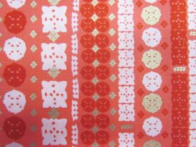 Great value Ruby Star Society Cotton- Candlelight- Paper Cuts- Poinsettia 33-12M available to order online Australia