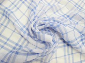 Great value Pool Side Check Crinkle Chiffon #4811 available to order online Australia