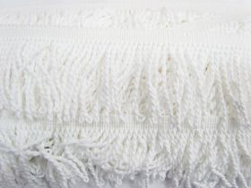 Great value 65mm Cotton Twisted Fringe- Marshmallow #475 available to order online Australia