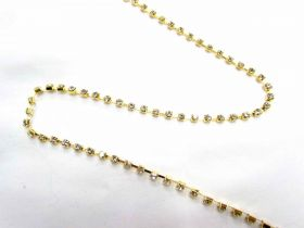 Great value 3mm Diamante Trim- Gold available to order online Australia