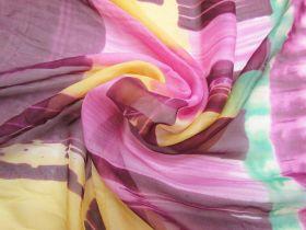 Great value Painter's Batik Silk Chiffon 65cm Panel  #2872 available to order online Australia