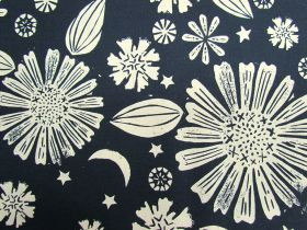 Great value Ruby Star Society Cotton- Golden Hour- Zinnia- Navy #12 available to order online Australia