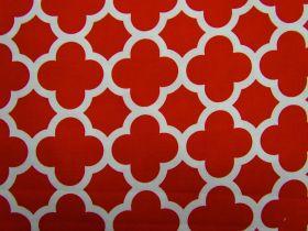Great value Quatrefoil Basics- Red available to order online Australia