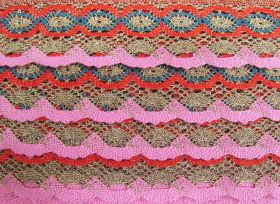 Great value 55mm Festival of Lights Cotton Lace Trim #227 available to order online Australia