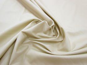 Great value Designer Stretch Cotton Poplin- Light Ecru available to order online Australia