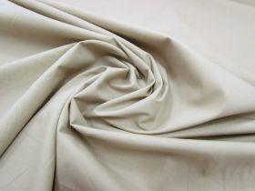 Great value Designer Stretch Cotton Poplin- Light Khaki Beige available to order online Australia
