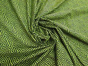 Great value Dazed Maze Lightweight Spandex- Fluro Yellow #4890 available to order online Australia