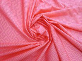 Great value Dazed Maze Lightweight Spandex- Pink #4891 available to order online Australia