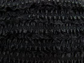 Great value 50mm Lace Garter Elastic Trim- Black #255 available to order online Australia