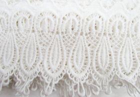 Great value 11cm Fleur Cotton Lace Edge Trim #280 available to order online Australia