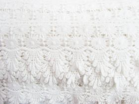 Great value 85mm Celia Cotton Lace Edge Trim #283 available to order online Australia