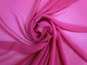 Great value Georgette-  Rich Fuchsia #4934 available to order online Australia