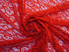 Great value Scarlet Orchid Paisley Lace  #4935 available to order online Australia