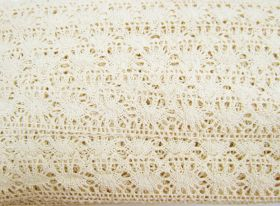 Great value 27mm Jessica Cotton Lace Trim #307 available to order online Australia
