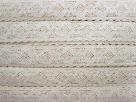 Great value 32mm Elena Cotton Lace Trim #312 available to order online Australia