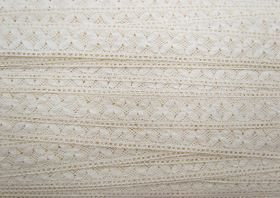 Great value 23mm Savannah Cotton Lace Trim #321 available to order online Australia