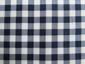 Great value 10mm Gingham Cotton- Navy #PW1211 available to order online Australia
