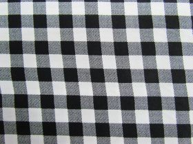 Great value 10mm Gingham Cotton- Black #PW1214 available to order online Australia