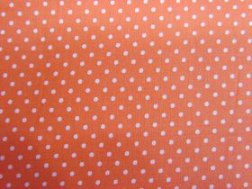 Great value 2mm Spot Cotton- Fruity Orange #PW1217 available to order online Australia