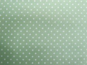 Great value 2mm Spot Cotton- Willow Green #PW1220 available to order online Australia