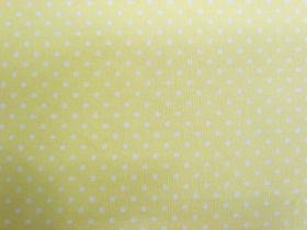 Great value 2mm Spot Cotton- Soft Sunshine #PW1222 available to order online Australia