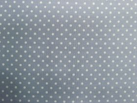 Great value 2mm Spot Cotton- Cold Grey #PW1223 available to order online Australia