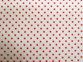 Great value 2mm Spot Cotton- Strawberries & Cream #PW1230 available to order online Australia