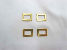Great value Gold Rectangle Sliders- RW198 4 for $2 available to order online Australia